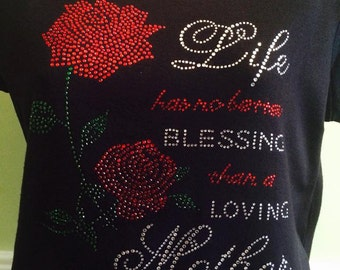 Mother's Day Rhinestone Design