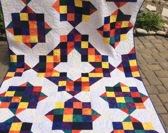 Bold and Bright Quilt