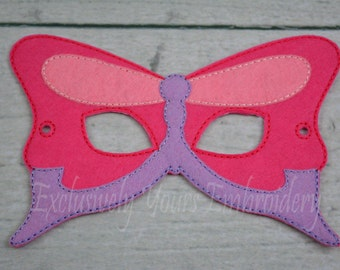 Butterfly Children's Mask  - Costume - Theater - Dress Up - Halloween - Face Mask - Pretend Play - Party Favor