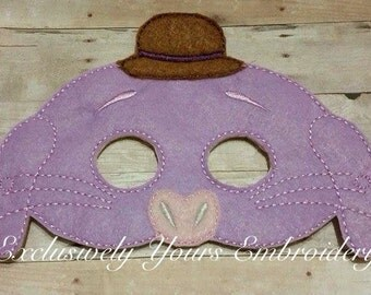 Imaginary Friend Children's Mask  - Costume - Theater - Dress Up - Halloween - Face Mask - Pretend Play - Party Favor