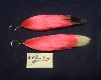 Pink Yarn Tail Key-chain