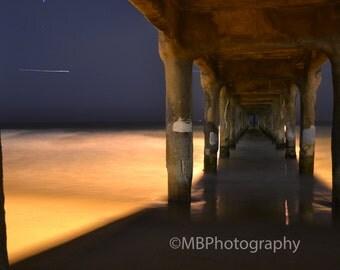 Manhattan Beach Pier Long Exposure