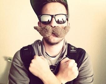 Mustache (Knit)