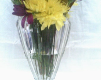 Vase Crown Glass Australia Fans