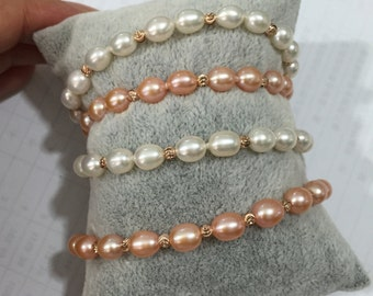 freshwater pearl Bracelet,cheap pearl bracelet,beaded bracelet pearl,pearl bracelets bridal,brdesmaid bracelets pearl,wedding pearl bracelet