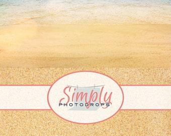 NEW Wrinkle Free, GLARE Free FABRIC,Beach , Photography Backdrop