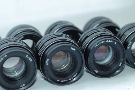 8 pcs. Helios-44M-4 2/58 Soviet Russian Lenses for Canon Zenit Pentax q