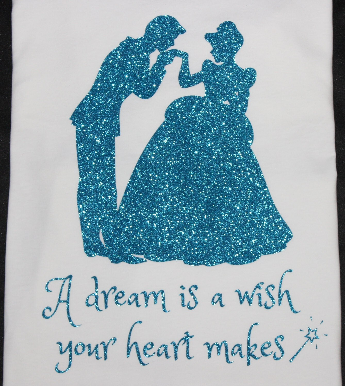 A Dream is a Wish Your Heart Makes – GLITTERandGLAMshop