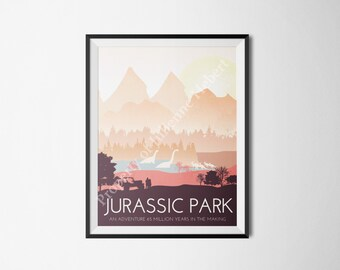 Jurassic Park Movie Poster Concept