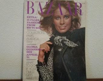 Vintage BAZAAR Magazine 1970's