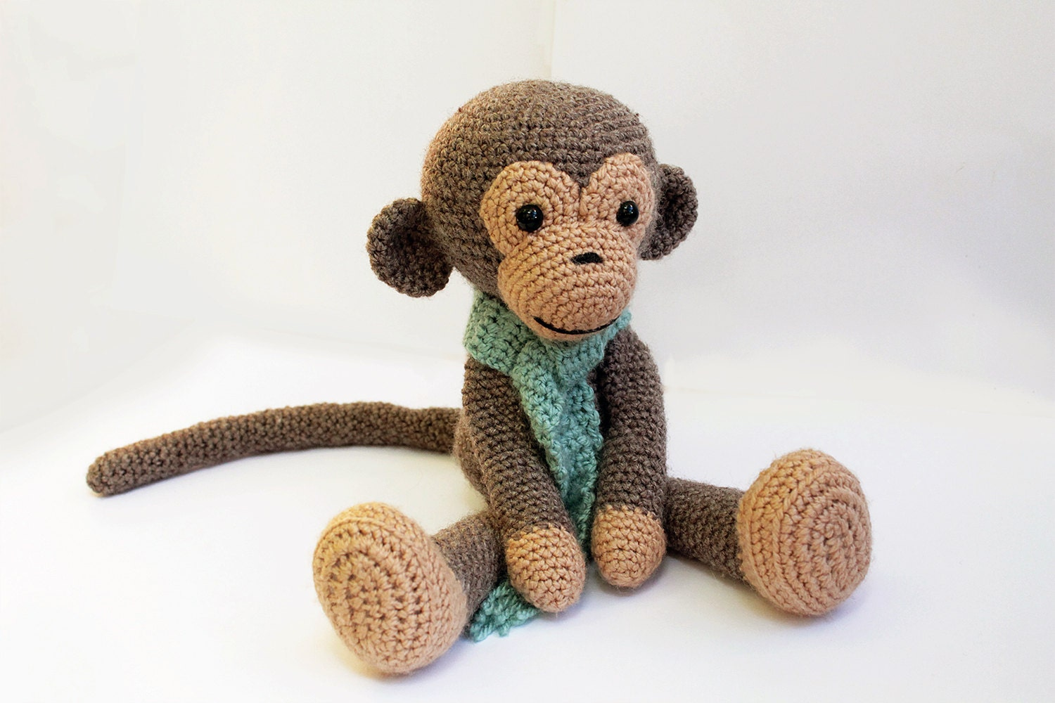 PATTERN : Monkey - Amigurumi Monkey-pattern - Crochet pattern-Knitted Stuffed...