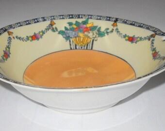 Vintage Noritake Moramura Bros., 1933-1954, Small Decorative Dish, Luster Glaze