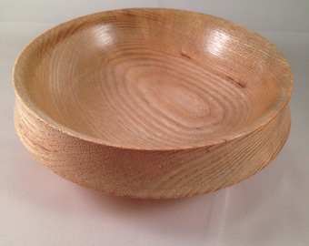 Hand-turned Small Ash Bowl #1511