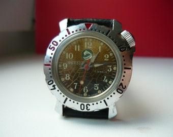 Vostok watch junior / Vostok JUNIOR 2409 A / Mechanical watch / USSR / Soviet Union / Mens watch / Vintage Soviet Vostok / military watch