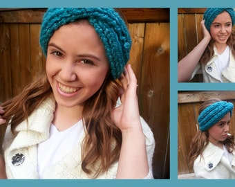 Knit Turban Headband/Earwarmer