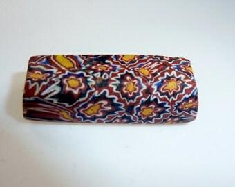 Antique African Millefiori Glasbead, Trade Bead