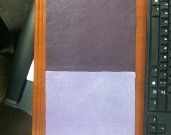 Purple Leather Panels