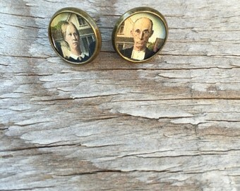 American Gothic Post Earrings