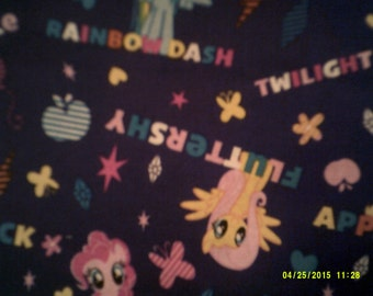 My Little Pony Fabric and Panel