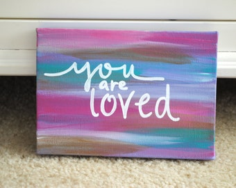 Quote Canvas // Made to Order & Customizable