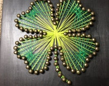 Shamrock String Art