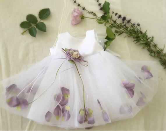 Doux débuts fleur fille robe