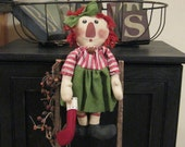 Raggedy Ann - Raggedy Ann Doll - Holiday Raggedy Ann Raggedy Ann With Stocking