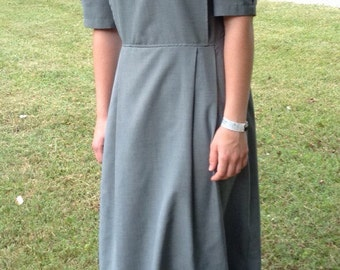 Modest Mennonite Cape Dress