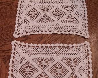 Vintage 3 piece table scarve estate find