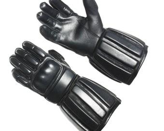 Leather Padded Sparring Gloves, HEMA Gloves, WMA Gloves, Sword fighting Gloves, Historical Training Gloves, SCA Fencing Gloves
