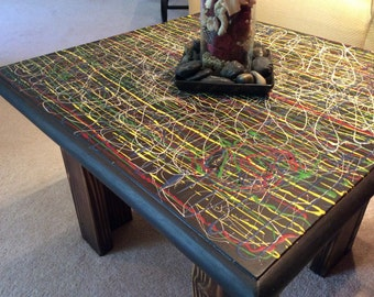 Flying Colors Coffee Table