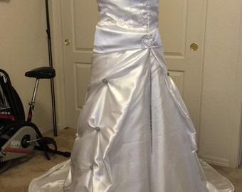 Beautiful handmade ballgown wedding dress!