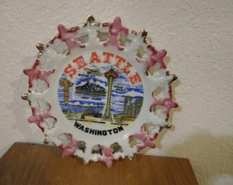 Collectible Seattle Souvenir Plate