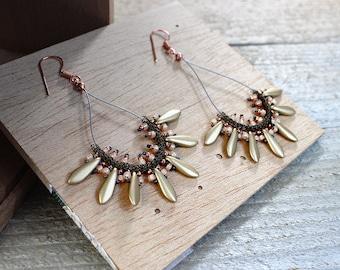 KIT – Spiky Earrings Kit (Silver/Gold/Bronze)