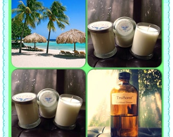 Caribbean Dream Aromatherapy Soy Candles