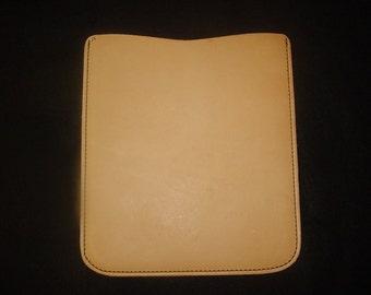 Tablet / iPad sleeve leather