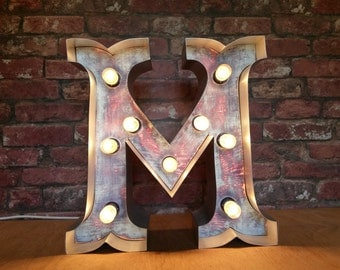 Marquee light up  letters A to Z