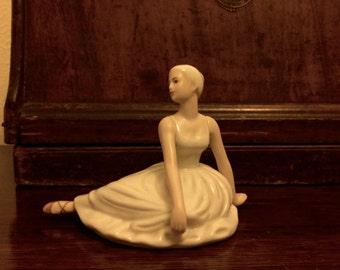 Vintage Porcelain Ballet Dancer