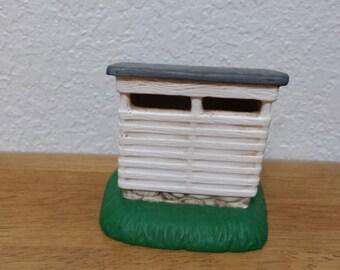 Ceramic Corn Crib(#400)