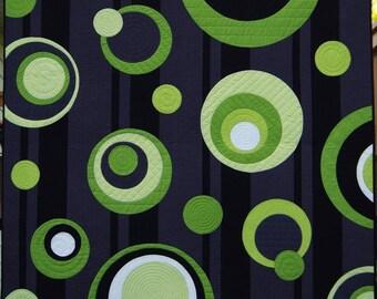 Wipey Box Circle Quilt Pattern