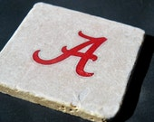 Stone Coasters, Set Of 4 - Alabama