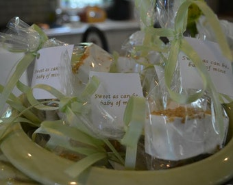Wedding Favors - Champagne Marshmallows -1 Dozen (24 Marshmallows)