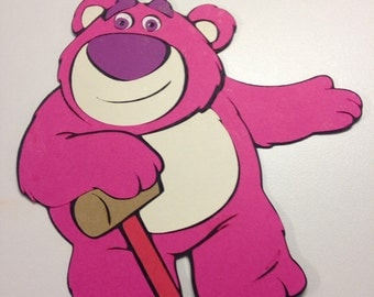 Toy Story's Lotso character die cut