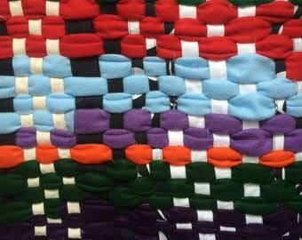 Multi-colored Rag Rug