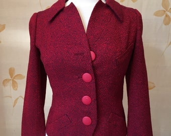 Vintage 1940s Christian Dior wool jacket