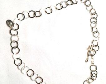 Venetiaurum 925 sliver linea itaia necklace