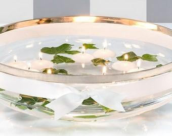 "2"" White Floating Candles - (4 Pcs.) - Free Shipping!"