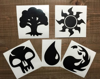 Magic The Gathering MTG Decal Set