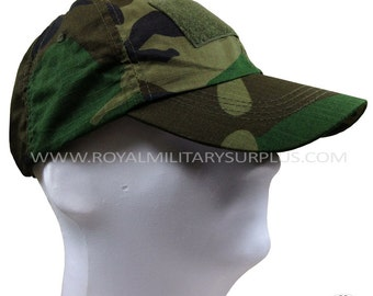 Tactical Cap - US Army & Military Woodland Camouflage - US WOODLAND (M81 Pattern)