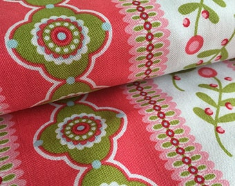 Fancy Bands PINK from Whimsy by Pillow and Maxfield for Michael Miller Fabric